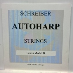 String set for modern autoharps